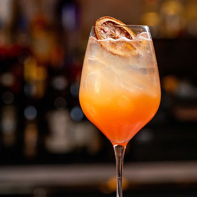 Our Spritz Barbarossa is an homage to Sicily's abundance of blood oranges. A refreshing mix of Tanqueray, Cappelletti, Prosecco and blood oranges, perfect for Spring evenings #ferocenyc