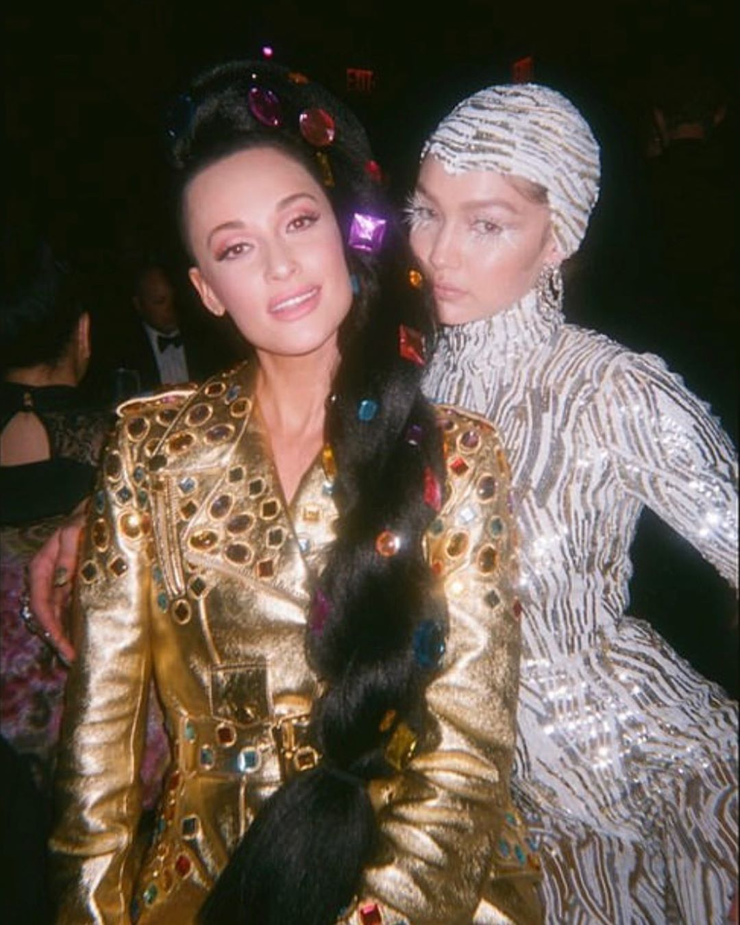#tbt to a truly special and amazing night on Monday! 🎞📷 by @gigihadid #repost #gigihadid @spaceykacey #kaceymusgraves #metgala2019 #metgala #afterafter