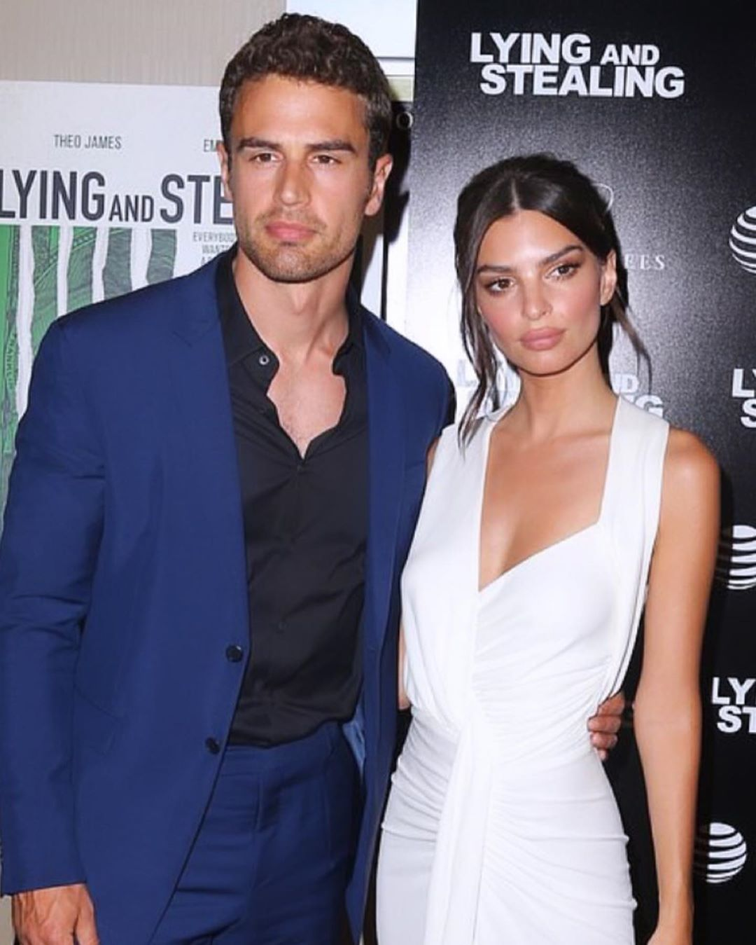 #aboutlastnight Great to host the @lyingandstealing premier party starring @emrata and #theojames #emrata
